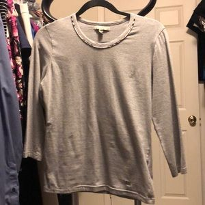 Authentic Burberry gray shirt small